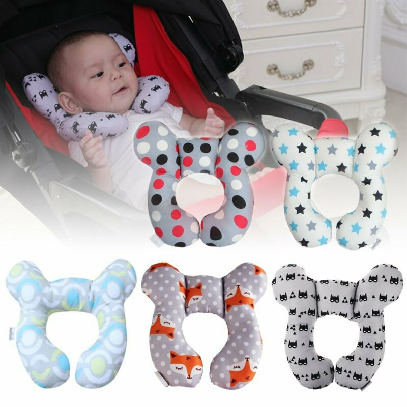 Baby Infant Pillow Memory Foam Positioner Prevent Anti-head Neck Support LN