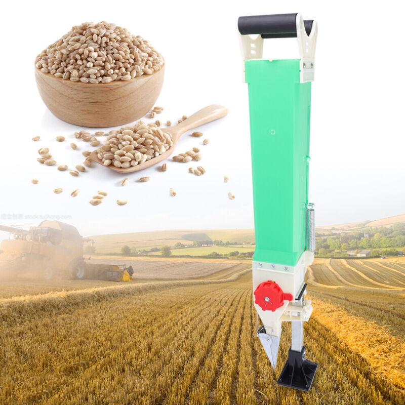 Corn Peanut Seeder Seed Fertilizer Spreader Handheld Planter Adjustable Amount
