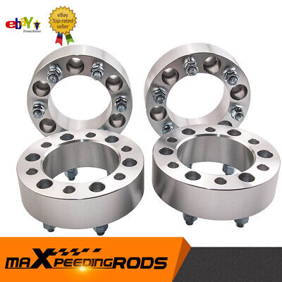 Wheel Spacers 50mm (4) Spacer Kit 6x139.7 M12x5 For Landcruiser Patrol Hilux...