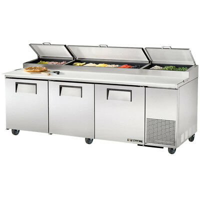 True Tpp-93 Commercial Solid Door Pizza Prep Table