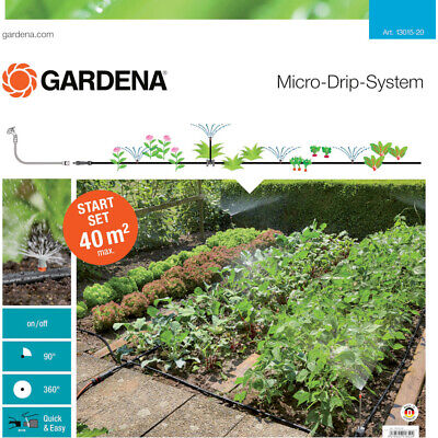 Gardena Mds Starter Set Planting Areas 40 M ² With Spraying Nozzles 13015