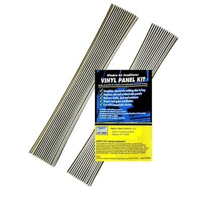 Air Conditioning Window Unit Replacement Vinyl Accordian Side Panel Kit, used for sale  Woodland Hills