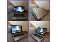 "Superfast 14"" HP EliteBook 3rd Gen i5 laptop with Radeon graphics. 8GB DDR3 RAM. 320GB hard drive."