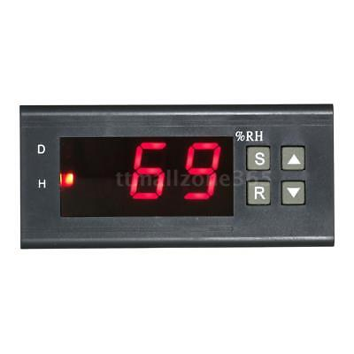 220v Digital Air Humidity Control Controller Range 199 Rh Led Display V4h7