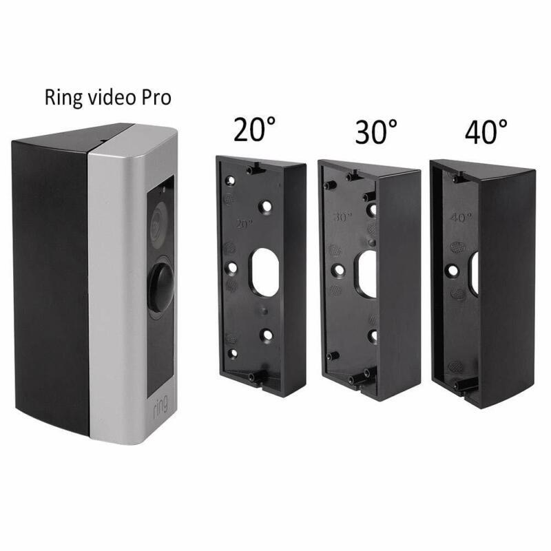 20°/ 30°/ 40° Adjustable angle doorbell bracket For Ring Video Doorbell Pro