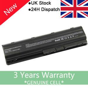 For 593554-001 HP G62 G72 Pavilion G6 DM4-1165DX DV5-2135DX DV5-2000 Battery UK