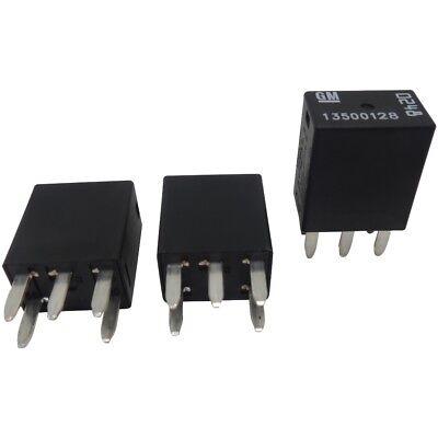 (OEM GM 5-Pin Relays (3 Pack) 13500128
