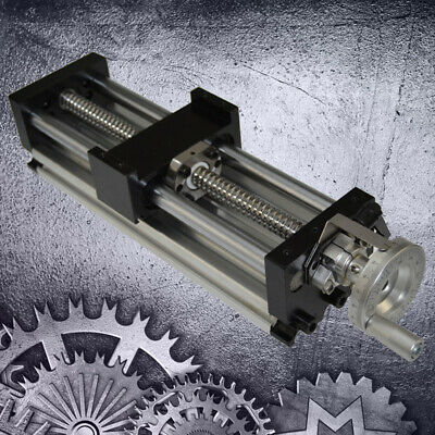 Sliding Table Manual Sfu1605 Ball Screw Linear Stage Actuator Cnc Slide