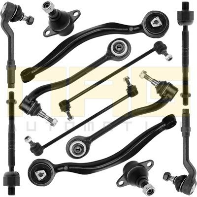 BMW X5 E53 FRONT SUSPENSION CONTROL ARM KIT WISHBONE BALL JOINT TIE ROD END LINK