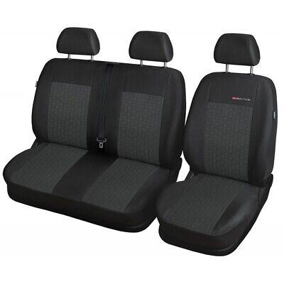 Sitzbezüge Sitzbezug Schonbezüge für BMW 1 Schwarz Modern MC-1 Komplettset