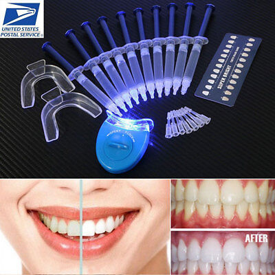 Teeth Whitening 44% Peroxide Dental Bleaching System Oral Gel Tooth Whitener -