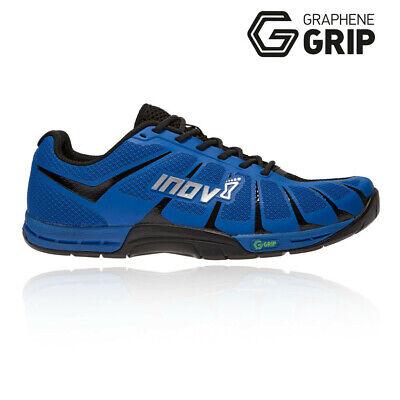 Inov8 Mens F-Lite 235v3 Training Gym Fitness Shoes - Black Blue Sports