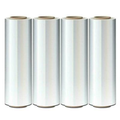 1 Roll 80 Gauge Cast Hand Stretch Wrap 18 X 1000 Plastic Bundling Shrink Film