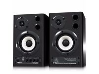 Behringer MS20 Studio Moniters (Pair w/ all cables) - NO BOX - HARDLY USED - O.N.O