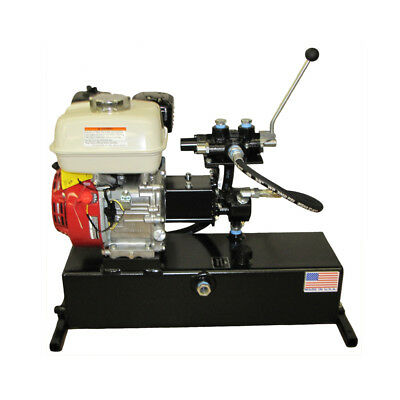 Gas Powered Hydraulic Pump - Double-acting - 5.5 Hp Motor - 2 Gpm - 3200 Psi