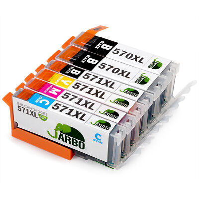Compatible PGI-570 CLI-571XL Ink Cartridge for Canon PIXMA MG5751 MG5750 MG5752