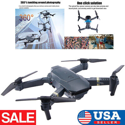 720P Mini Drone Selfie WIFI FPV HD Camera Foldable Arm RC Quadcopter Toy IN USA