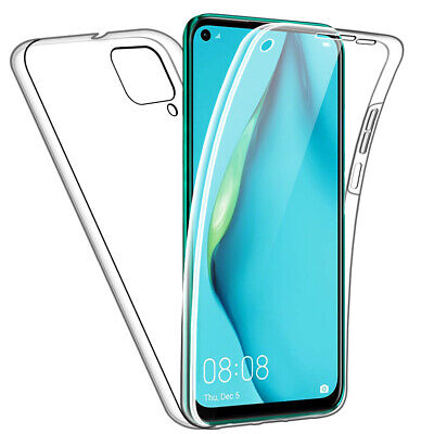 SDTEK Case for Huawei P40 Lite Full Body 360 Gel Cover Front and Back