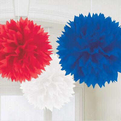 t Weiß Blau Wandbehang Flaumig Gewebe Dekorationen Union Jack (Union Jack Dekorationen)