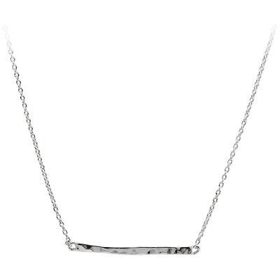 Gorjana Taner Bar Silver Choker Necklace 165109S