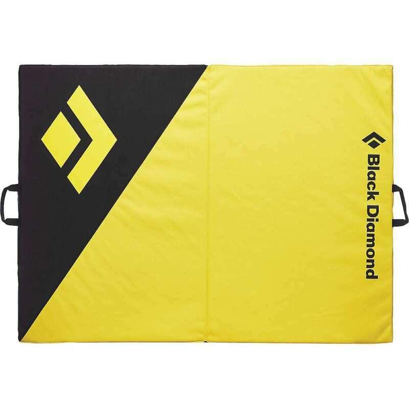 Black Diamond Circuit Crash Pad - Black / Lemon Grass