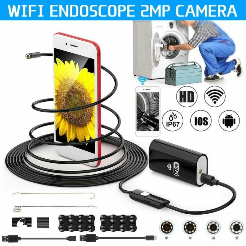 Endoscopic camera inspection probe USB 5m 6 LED ip67 Android Notebook PCs