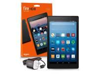 "Amazon Fire HD 8 8"" 16gb tablet"