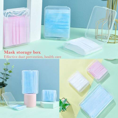clean storage container face shield storage box