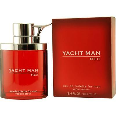 YACHT MAN RED by Myrurgia cologne EDT 3.3 / 3.4 oz New in Bo