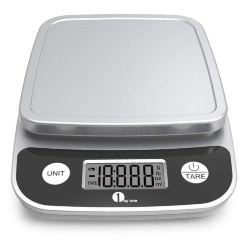 1byone Digital Kitchen Scale Precise Cooking and Baking Scale, Multifunction...