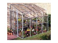 6'x 8' lean-to greenhouse.