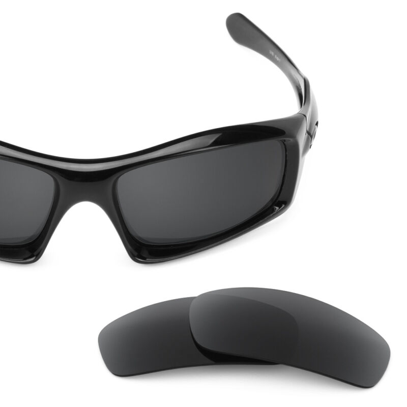 oakley sunglasses black and red  black replacement