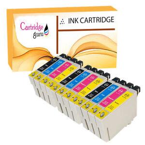 12 Ink Cartridges For Epson Stylus S21 SX110 SX115 SX215 SX410 SX415 SX515W