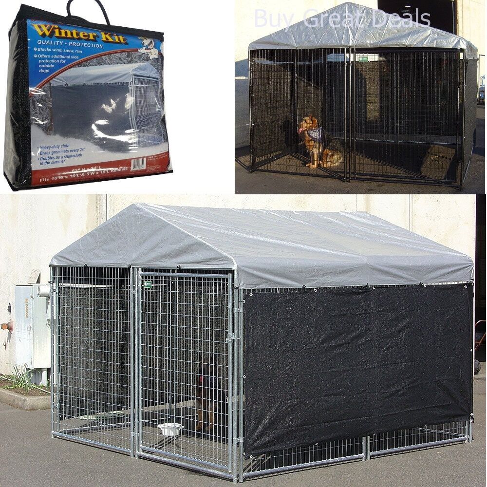 Details About Dog Pet House Cover Cloth For Cage Kennel Large Outdoor Shade Shelter Only