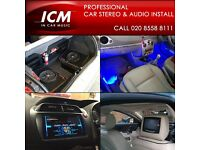 CAR AUDIO INSTALLATION XENON HID PARKING SENSORS CAMERAS & SCREENS SPEAKERS AMPS FITTING SERVICE