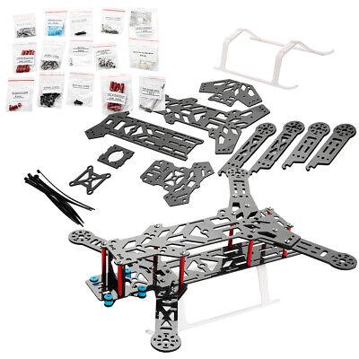 AGM Kohlefaser Quadcopter 300 Rahmen Carbon Fiber Frame Kit Rot 260 x 240x 98 mm online kaufen
