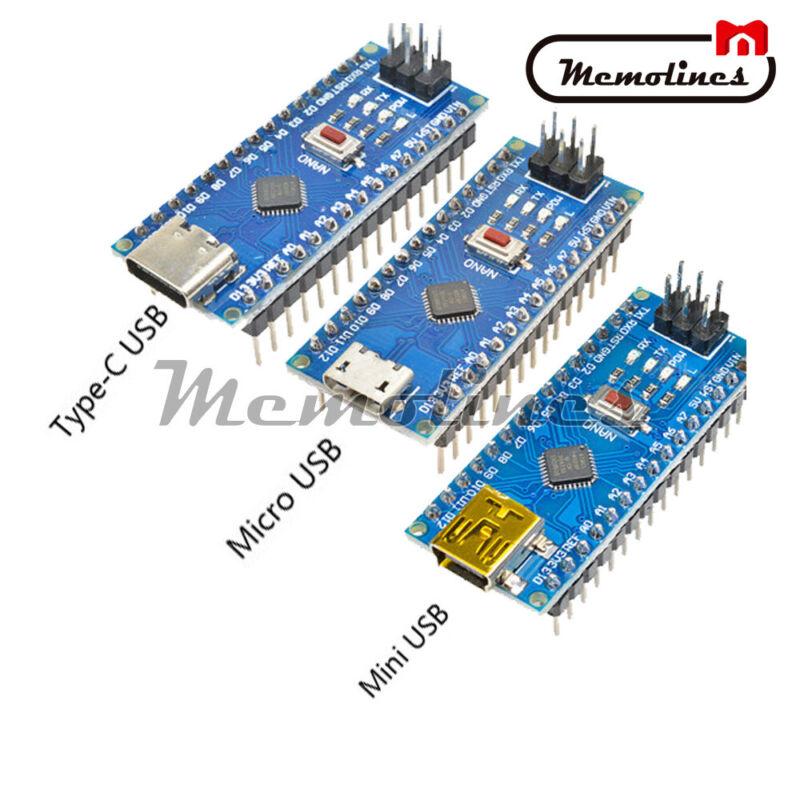 Usb 5v 16m Welded Ch340g Nano V3.0 Atmega328p Controller Board  For Arduino