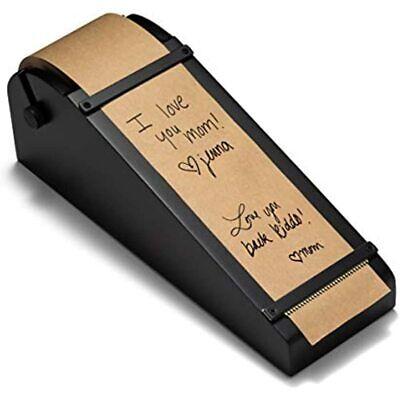 Rettel Desktop Roller Kraft Paper Dispenser 1 Black Electronics