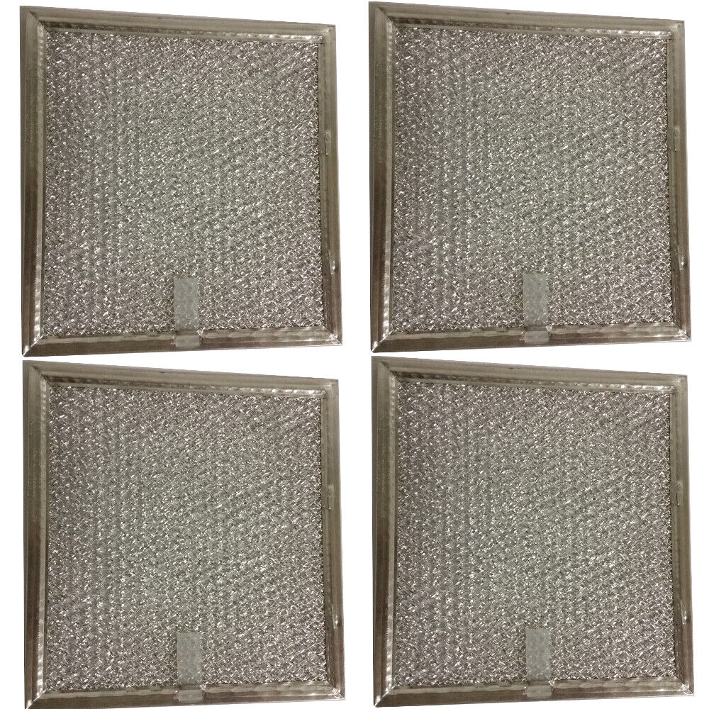 "(4-Pack) Compatible Samsung DE63-00666A Grease Filter 6-3/8"" x 6-3/4"" x 3/32"""