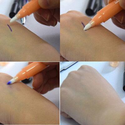 13 CM Magic Eraser Remove Skin Tattoo Eyebrow Design Marker Pen Semi (Remove Permanent Marker Pen)