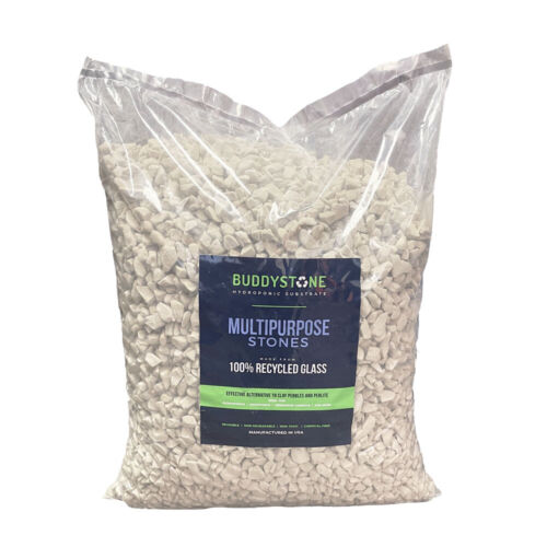 BuddyStone | Hydro Grow Stones | Aquaponic | Hydroponic Substrate | 1.5 Cu Ft