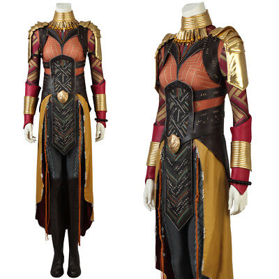 Black Panther Okoye Costume Comic Con Outfit Dora Milaje Costume Cosplay Dress](Comic Con Outfit)