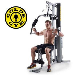 NEW GOLD'S GYM XRS 50 HOME GYM - 110629408 - EXERCISE FITNESS EQUIPMENT