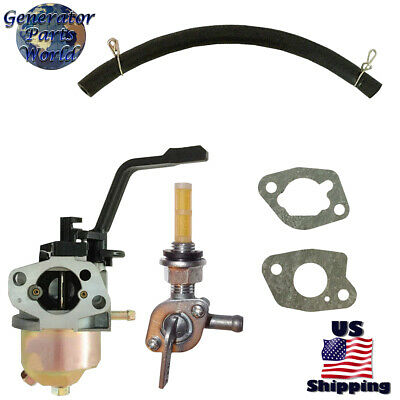 A-ipower Carburetor Right Petcock Sua3500 Sua4000 Sua5250 3500 5250 Generator