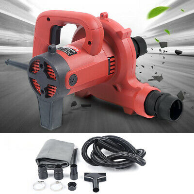 1200w Handhold Vacuum Cleaner Blower Catcher Dust Collector Kit For Wall Chaser