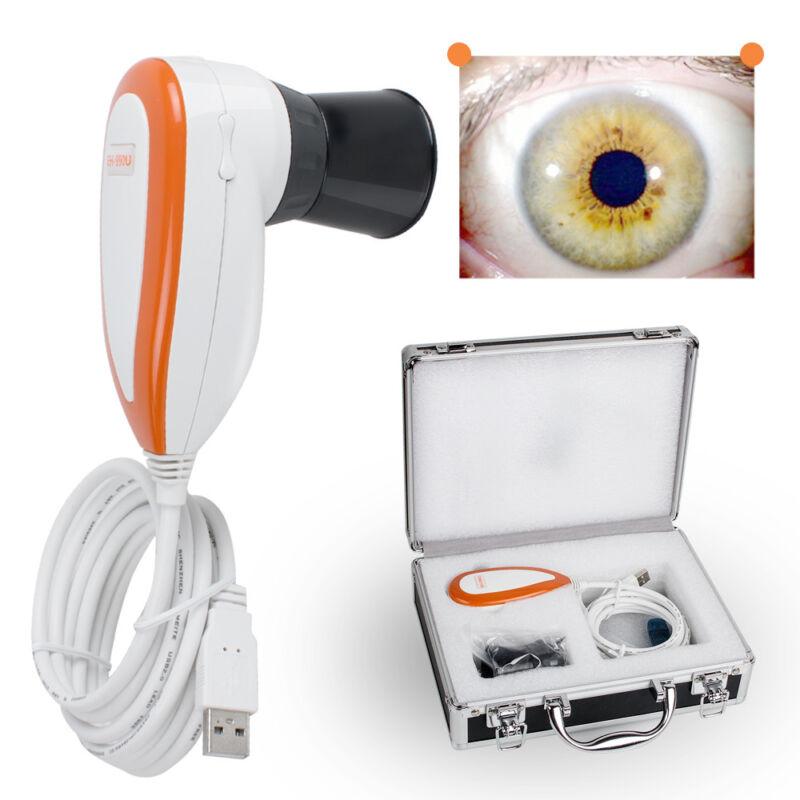 5.0 MP USB Iriscope Iris Analyzer Iridology camera Pupilometer+Software CE&FDA