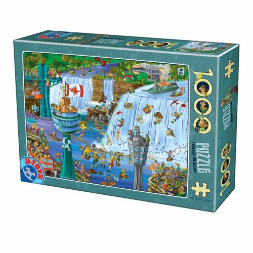 D-Toys 1000 Piece Puzzle - Cartoon Collection Niagara Falls
