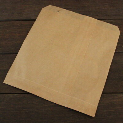 BROWN Kraft strung 35gm Paper **500** Bags Sweet Food Fruit 12