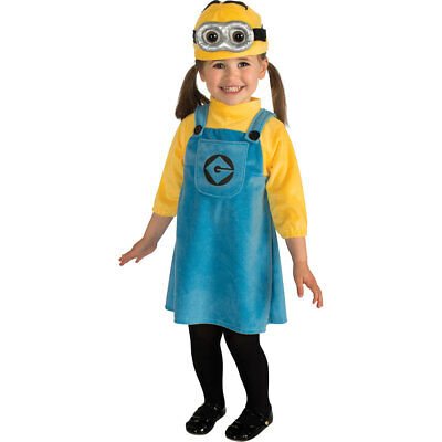 Baby Female Minion Despicable Me Halloween Costume - Despicable Me Minion Baby Halloween Costume
