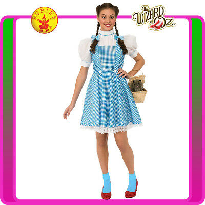 Teen Dorothy (Ladies The Wizard of Oz Dorothy Costume Licensed Book Week Teen Fancy Dress )